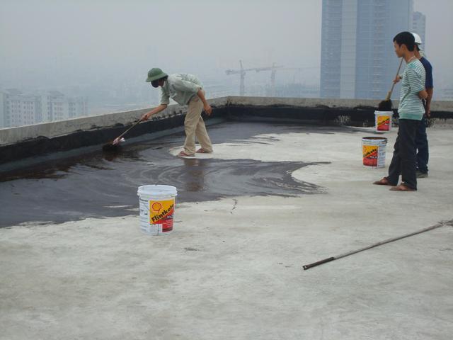 thợ chống thấm tại quận 3 CÔNG TY XD HOÀNG THÁI SƠN chuyên nhận thi công chống thấm chống dột tại TPHCM